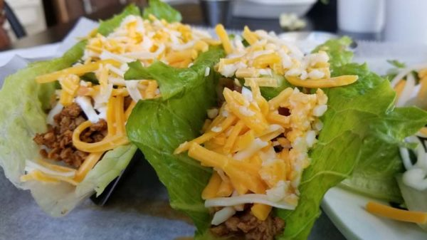 The Resolution Lettuce Wrap Tacos